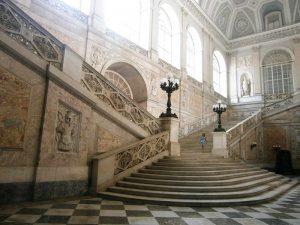 Scala interna principale del Palazzo Reale